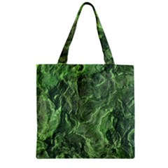 Geological Surface Background Zipper Grocery Tote Bag