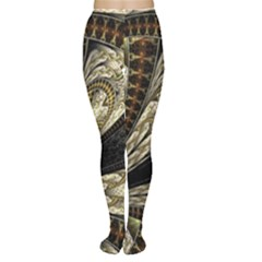 Fractal Abstract Pattern Spiritual Women s Tights