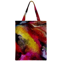 Background Art Abstract Watercolor Zipper Classic Tote Bag