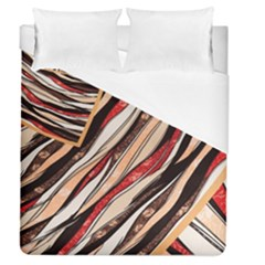 Fabric Texture Color Pattern Duvet Cover (queen Size)