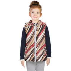 Fabric Texture Color Pattern Kid s Puffer Vest