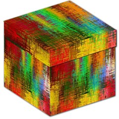 Color Abstract Background Textures Storage Stool 12