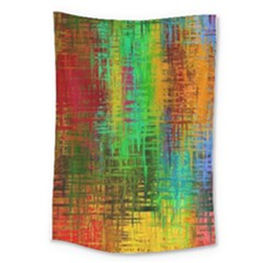 Color Abstract Background Textures Large Tapestry