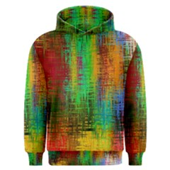 Color Abstract Background Textures Men s Overhead Hoodie