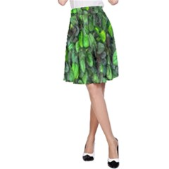 The Leaves Plants Hwalyeob Nature A Line Skirt
