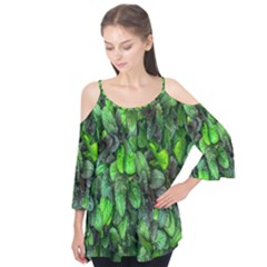 The Leaves Plants Hwalyeob Nature Flutter Tees
