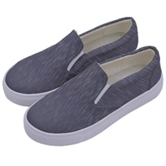 Misty Mountain Pt 2 Kids  Canvas Slip Ons by Cosmicnaturescapes