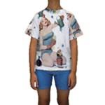 Retro 1265769 1920 Kids  Short Sleeve Swimwear