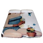 Retro 1265769 1920 Fitted Sheet (Queen Size)