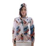 Retro 1265769 1920 Hooded Wind Breaker (Women)