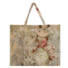 Fairy 1229009 1280 Zipper Large Tote Bag