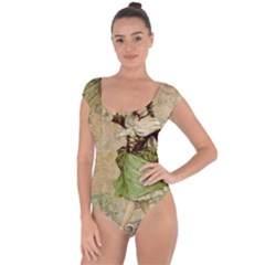 Fairy 1229005 1280 Short Sleeve Leotard  by vintage2030