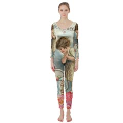 Easter 1225815 1280 Long Sleeve Catsuit by vintage2030
