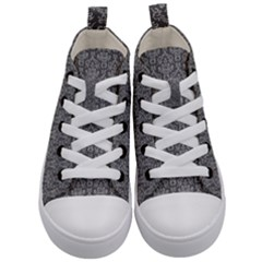 Damask 937606 960 720 Kid s Mid Top Canvas Sneakers