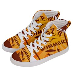 Ready For Summer Men s Hi Top Skate Sneakers by Melcu