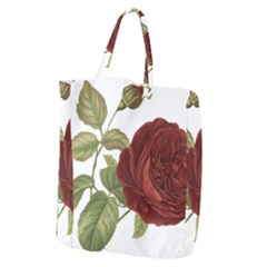 Rose 1077964 1280 Giant Grocery Zipper Tote by vintage2030