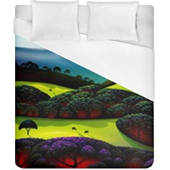 Morning Mist Duvet Cover (california King Size) by ValleyDreams