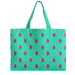 Love Heart Set Seamless Pattern Zipper Mini Tote Bag by Nexatart