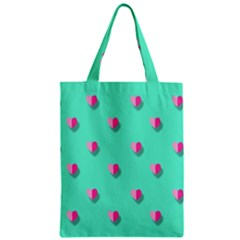 Love Heart Set Seamless Pattern Zipper Classic Tote Bag