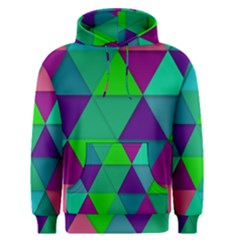 Background Geometric Triangle Men s Pullover Hoodie
