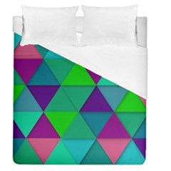 Background Geometric Triangle Duvet Cover (queen Size)