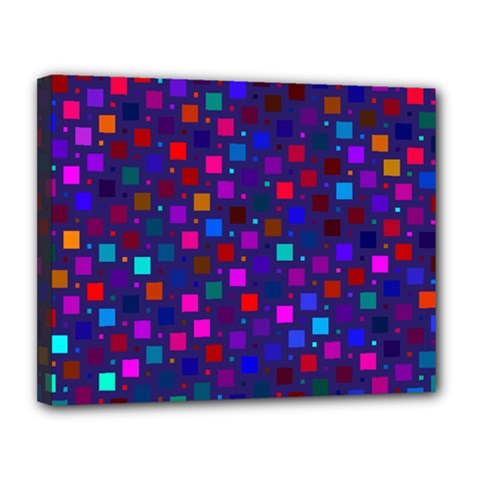 Squares Square Background Abstract Canvas 14  X 11