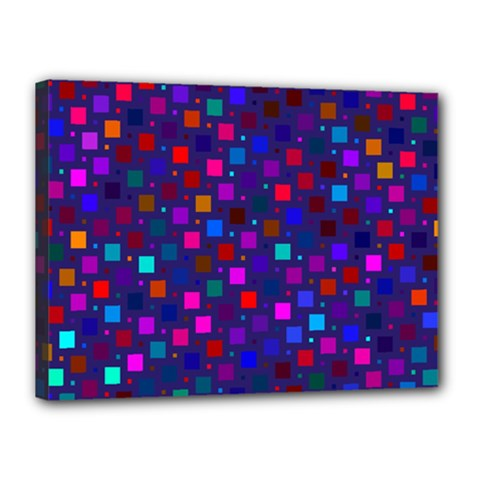 Squares Square Background Abstract Canvas 16  X 12