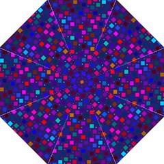 Squares Square Background Abstract Folding Umbrellas