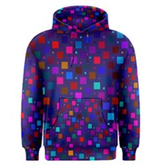 Squares Square Background Abstract Men s Pullover Hoodie