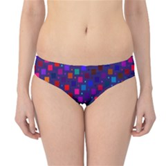 Squares Square Background Abstract Hipster Bikini Bottoms