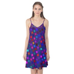 Squares Square Background Abstract Camis Nightgown