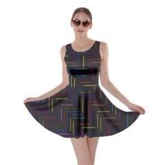 Lines Line Background Skater Dress