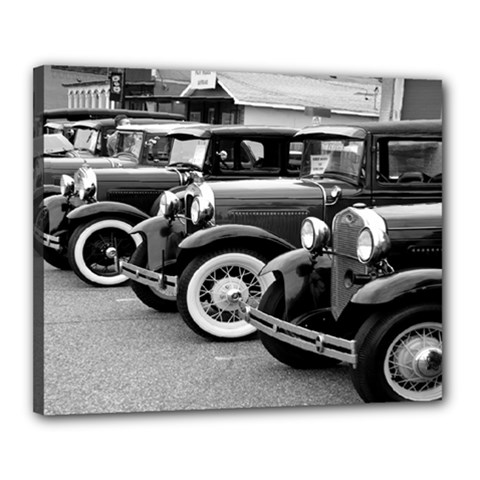 Vehicle Car Transportation Vintage Canvas 20  X 16