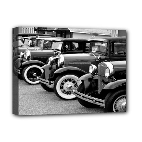 Vehicle Car Transportation Vintage Deluxe Canvas 16  X 12