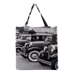 Vehicle Car Transportation Vintage Grocery Tote Bag