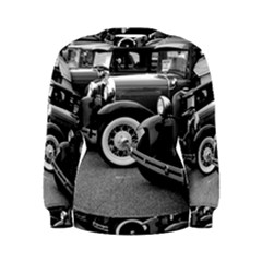 Vehicle Car Transportation Vintage Women s Sweatshirt