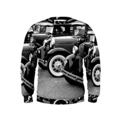 Vehicle Car Transportation Vintage Kids  Sweatshirt