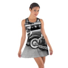 Vehicle Car Transportation Vintage Cotton Racerback Dress