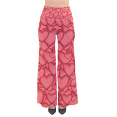 Background Hearts Love Pants