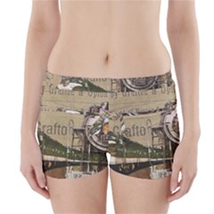 Train Vintage Tracks Travel Old Boyleg Bikini Wrap Bottoms