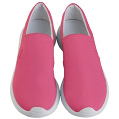 Pink 16 A | Light Pink Lightweight Slip Ons by thefashionboutique