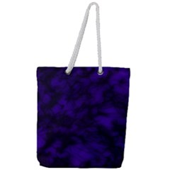 Midnight Full Print Rope Handle Tote (large) by vwdigitalpainting