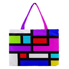 Dutch Modern Abstract Medium Tote Bag by vwdigitalpainting