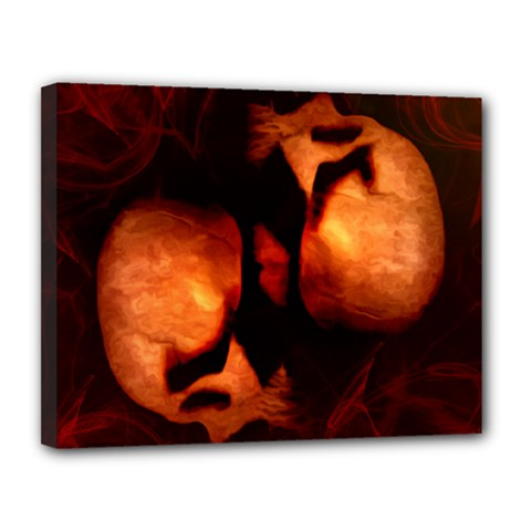 Of Two Minds Canvas 14  X 11  by vwdigitalpainting