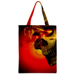 Flare Zipper Classic Tote Bag by vwdigitalpainting