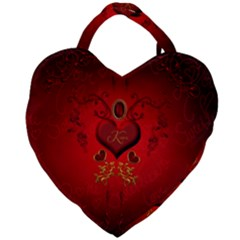 Wonderful Hearts, Kisses Giant Heart Shaped Tote by FantasyWorld7