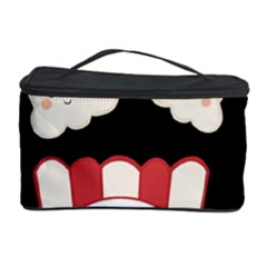 Cute Kawaii Popcorn Cosmetic Storage Case by Valentinaart