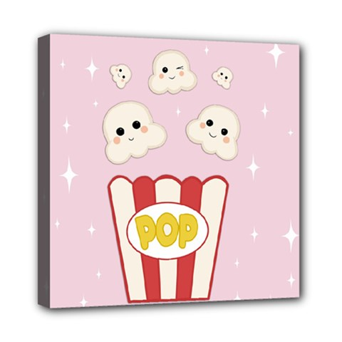 Cute Kawaii Popcorn Multi Function Bag	 by Valentinaart