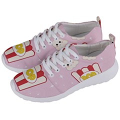 Cute Kawaii Popcorn Men s Lightweight Sports Shoes by Valentinaart