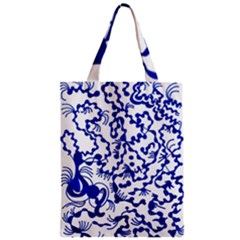 Dna Lines Zipper Classic Tote Bag